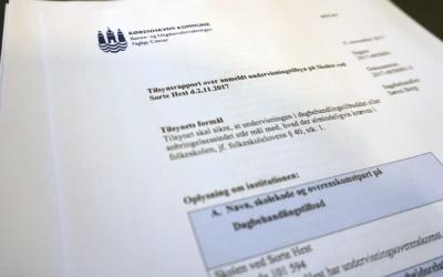 Tilsynsrapport efterår 2018